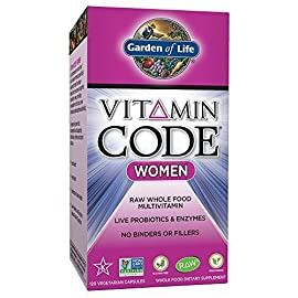 Garden-of-Life-Vegetarian-Multivitamin-Supplement-for-Women-Vitamin-Code-Womens-Raw-Whole-Food-Vitamin-with-Probiotics