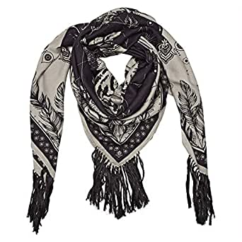 Amenapih Mystic Oblong Scarf for Women - Taupe