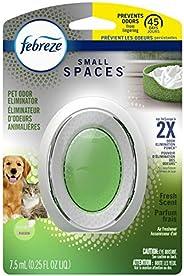 Febreze Small Spaces Pet Odor Eliminator Air Freshener, Fresh 1 count