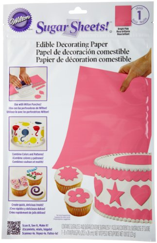 Wilton Sugar Sheet, Bright Pink