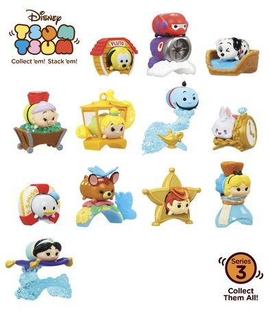 NEW Disney Tsum Tsum Mystery Stack Pack Series 3 Set of 2 Mystery Figures