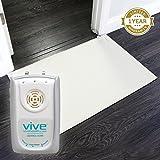 Floor Pressure Sensor Mat by Vive - Includes Alarm & Non-Slip Pressure Sensor Pad - Long Term Monitor For Elderly, Seniors, or Bedridden - Medical Fall Alert System