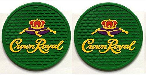 Crown Royal Regal Apple Canadian Whisky Bar Coasters Spill Mats set of 2