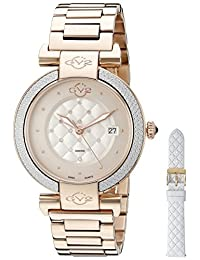GV2 by Gevril Women's 1502 Berletta Analog Display Swiss Quartz Gold Watch