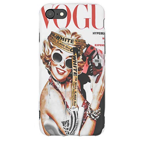 for The Culture Artwork - Flexible Plastic Protective Case/Cover / Skin/Bumper for iPhone (Marilyn, iPhone 6/6s)