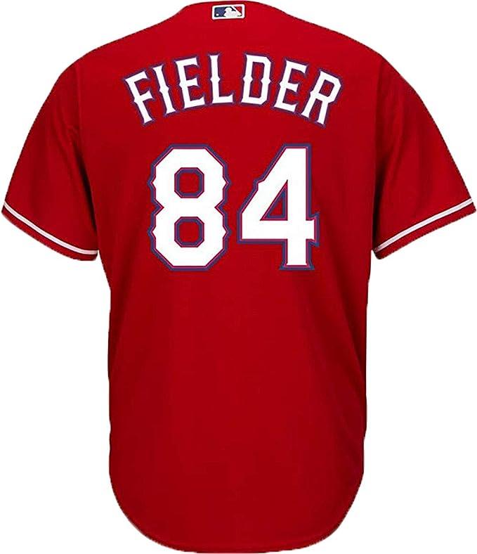 Outerstuff Prince Fielder Texas Rangers Blue Kids Cool Base Alternate Jersey