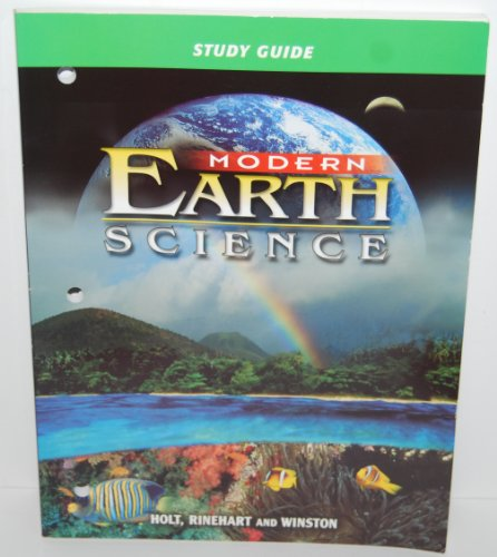 Modern Earth Science Study Guide