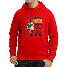 """Hoodie """"It's Not a Beer Belly It's a Fuel tank for a Sex Machine"""" for beer lovers"""