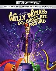 Willy Wonka & the Chocolate Factory (4K Ultra HD + Blu-ray + Digi