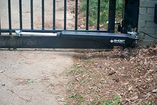 Ghost Controls DTP1XP Architectural Series Automatic Gate Opener Kit for Swing Gates Up to 1000 lbs. or 20 Feet (ft.) in Length (2. DTP1XP Single Solar Kit) by GHOST CONTROLS (Image #3)