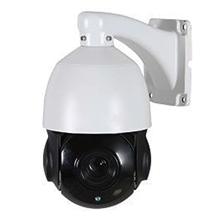 1080p 2MP HD CVI TVI AHD CCTV 18X PTZ Auto Focus Indoor Outdoor Weatherproof IP66 Mini Pan Tilt Zoom Security Surveillance Camera with 393ft of Infrared Night Vision IR and Sony Sensor