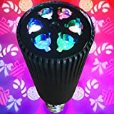 Holiday Party Bulb - Christmas Projector Lamp - Fits Standard Light Socket - Ships from USA