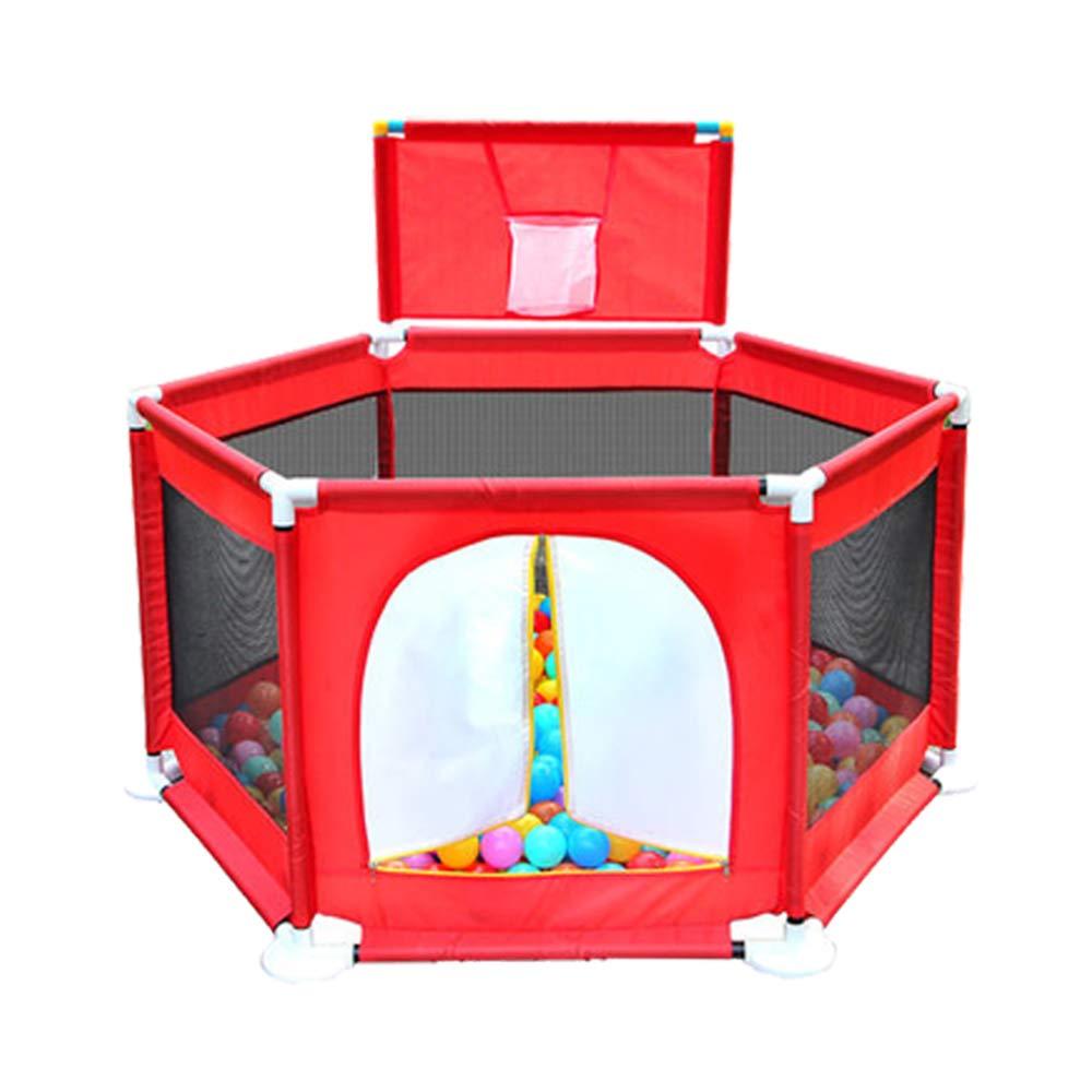 XIAOLIN 保護フェンス子供の遊びフェンスクローリング幼児フェンスオーシャンボールプール屋内遊び場おもちゃの家   B07GH13HBC