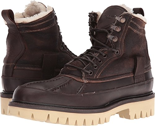 rag & bone Men's Spencer Duck Boot Brown Shearling 42.5 D EU