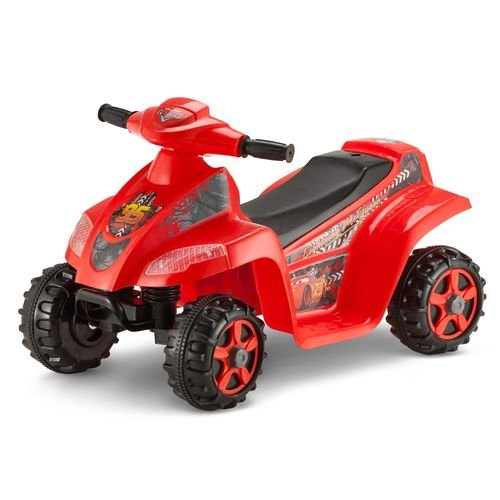 KidTrax Boys' Disney Cars 6V Quad Ride-On by Kid Trax
