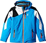 Spyder Kids Boy's Avenger Jacket (Big Kids) Fresh Blue/White/Black 12
