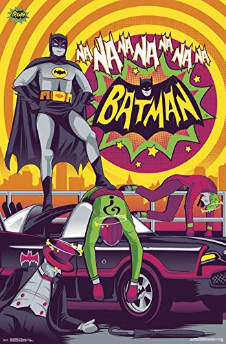 Trends International 1966 Batman-Victory Clip Bundle Wall Poster, 22.375
