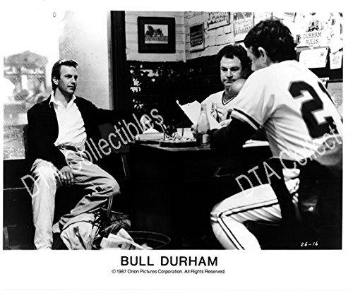 BULL DURHAM-1988-KEVIN COSTNER-TREY WILSON-B&W STILL FN