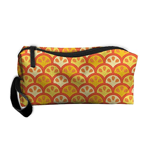 Organizer Louis Zippy Vuitton (NB UUD Summer Orange Portable Zipper Change Purse Coin Wallet Card Holder With Key Ring Women Cosmetic Bags Students Pen Bag)