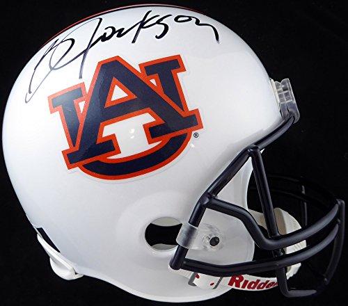Auburn Tigers Signature Helmet (Bo Jackson Autographed Auburn Tigers Full Size Helmet Beckett BAS)