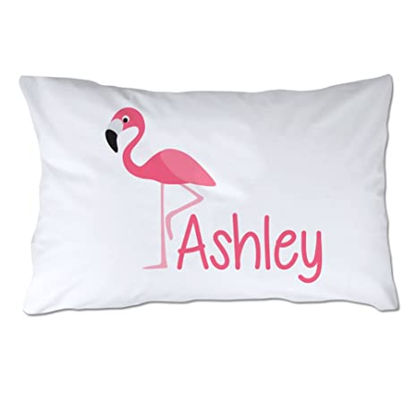Amazon.com: Personalizado Flamingo Funda de almohada: Home ...