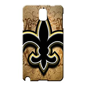 samsung note 3 Shock Absorbing Snap-on Perfect Design cell phone carrying shells new orleans saints nfl football
