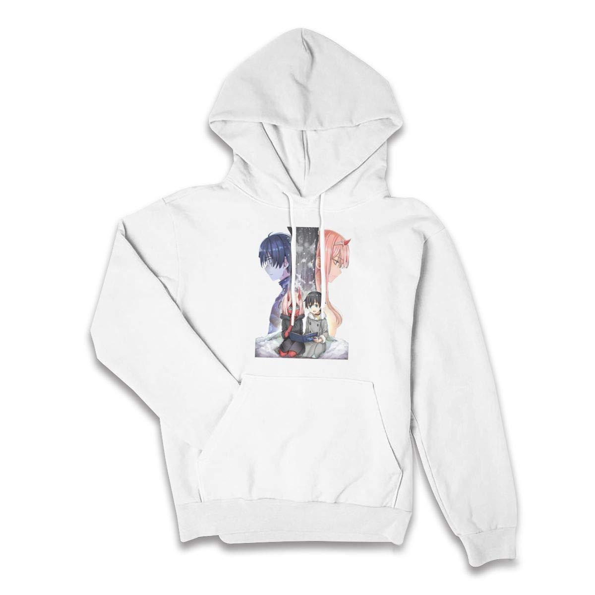 Womens Darling in The FRANXX Hoodie Sweatshirt