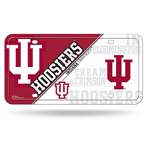 Metal Indiana Hoosiers (NCAA Indiana Hoosiers Metal License Plate Tag)