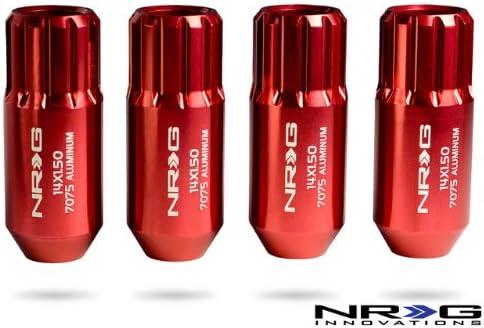 4 Piece NRG Innovations LN-472RG Rose Gold Extended Lug Nut Set