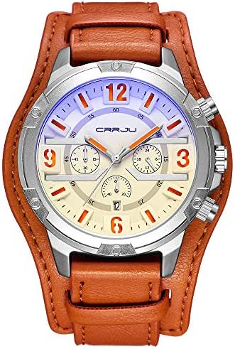 Ultramall BC41 Kajun 2142 New Men's Hot Casual Personality Watch Fashion Popular