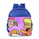 Kids The Fairly Oddparents School Backpack Cartoon Children School Bags RoyalBlue