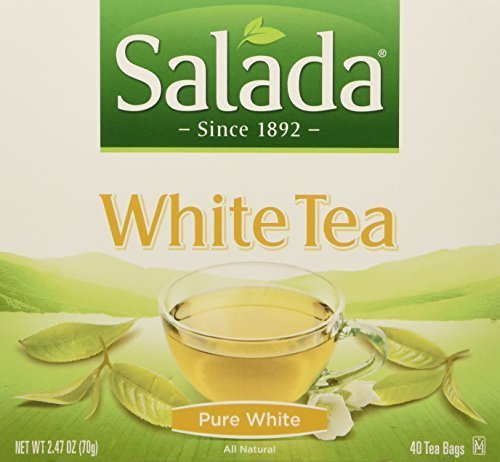 White Asian Tea Tea - Salada Pure White Tea, 40-Count Packages (Pack of 6)