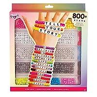Tell Your Story Alphabet Bead Case Bracelet Making Kit