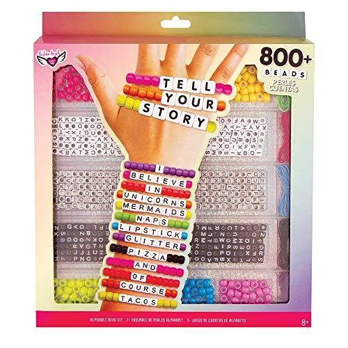 Tell Your Story Alphabet Bead Case Bracelet Making Kit (800+ Set) ()