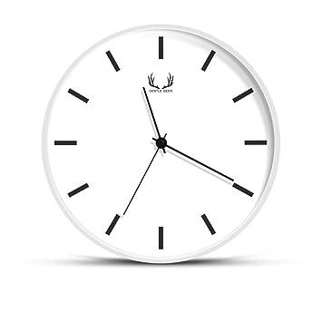 WALL DECORS Relojes de Pared Silencioso Grandes Originales Cocina Decorativas 8 Pulgadas: Amazon.es: Hogar
