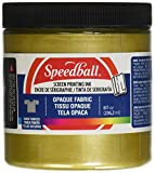 Arts & Crafts : Opaque Fabric Screen Printing Ink Colour: Gold, Size: 8 oz