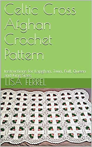 Celtic Cross Afghan Crochet Pattern Instructions For Lapghan Twin