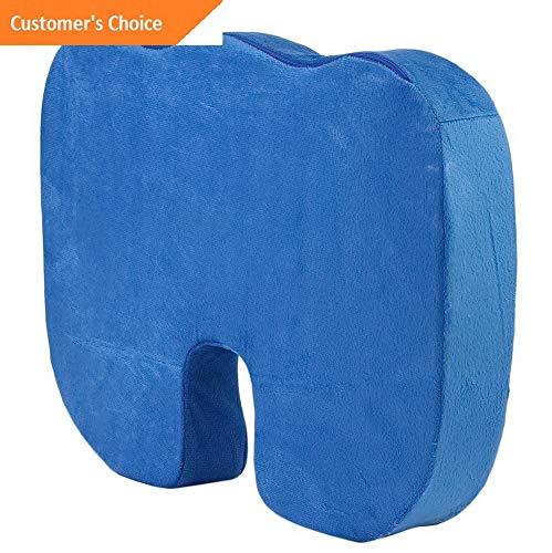 (Werrox Coccyx Orthopedic Memory Foam Seat Cushion Offic Chair Car Seat Pain Relief HOT~ | Model CHRCSHN - 234 |)
