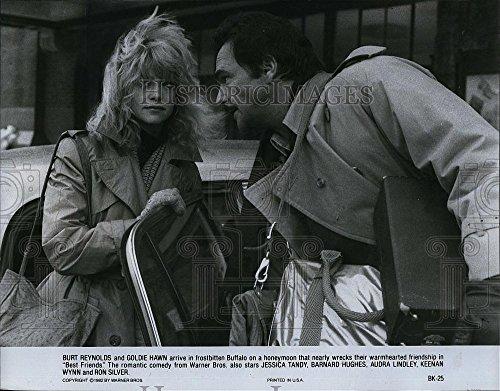 Historic Images 1982 Press Photo Burt Reynolds, Goldie Hawn Best Friends