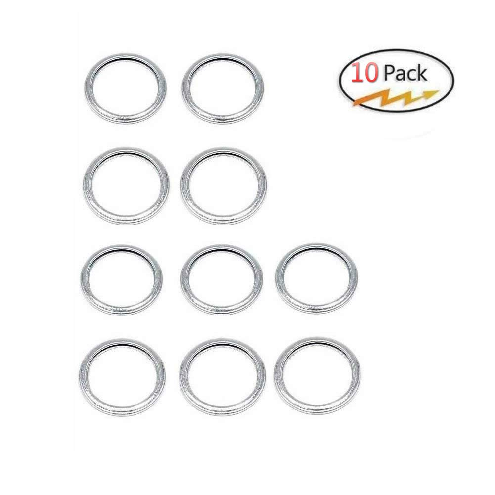 Genuine Subaru 11126AA000 Crush Oil Drain Plug Gasket, Pack of 10(20mm) Pack of 10(20mm) KANGQP