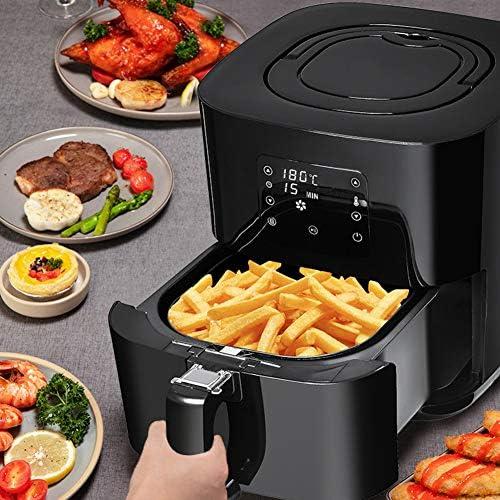Demo Air Fryer, Multifonctions Friteuse électrique des ménages 3.5L Grande capacité Machine Intelligente de Frites, Non-fumée pour la santé sans Huile ou Faible en Gras de Cuisson