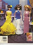 Crochet Fashion Doll Even Gowns, 1997 (Leaflet # 870114)