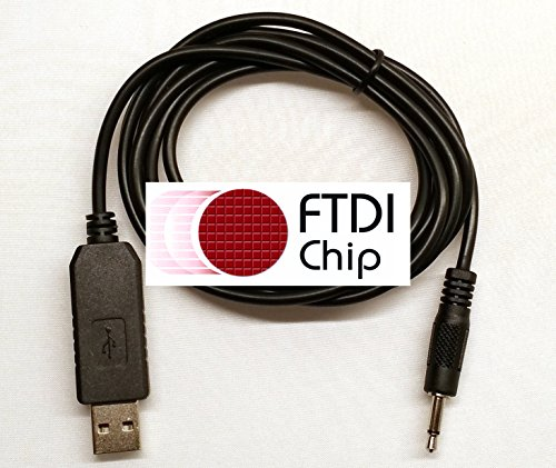 (BlueMax49ers FTDI USB Scanner Programming Cable for Radio Shack PRO-83 PRO-84 PRO-96 PRO-160 PRO-162 20-047)