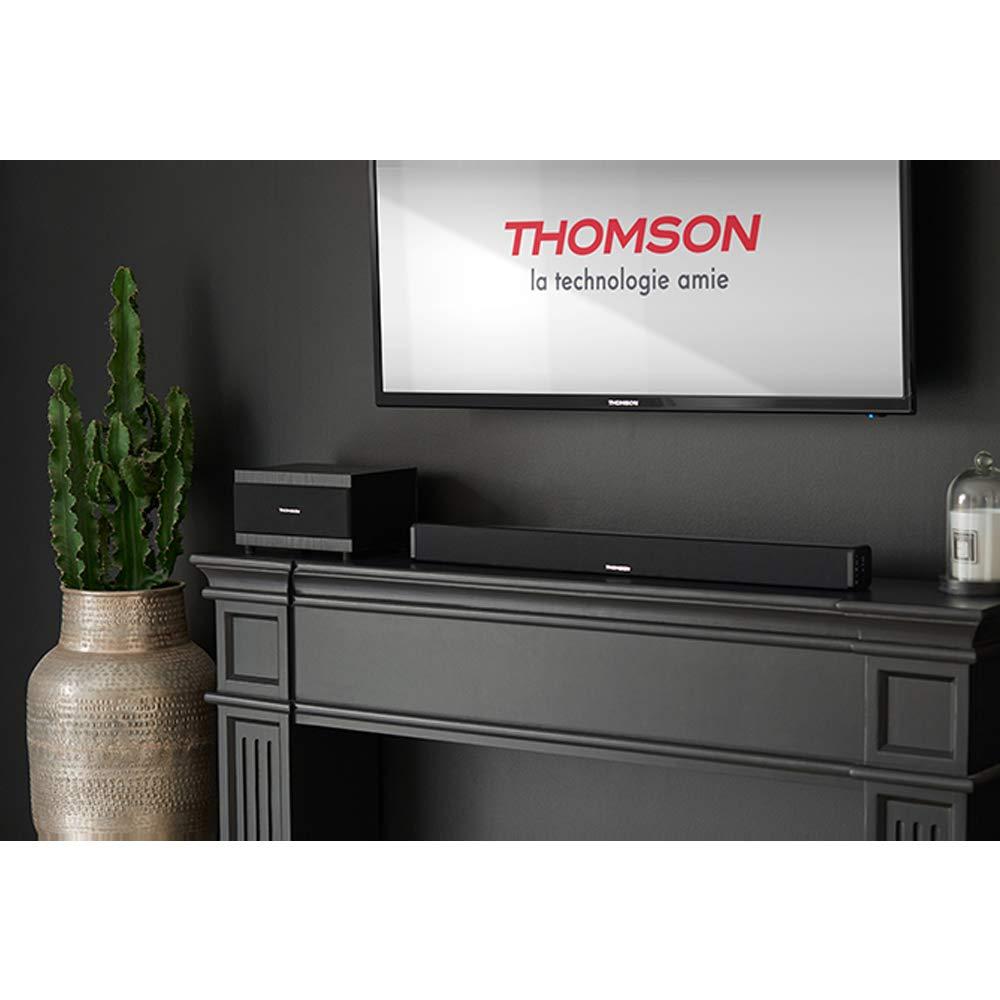Pack con barra de sonido y subwoofer Bluetooth, sistema 2.1, 100 W, entrada RCA Thomson SB50BT