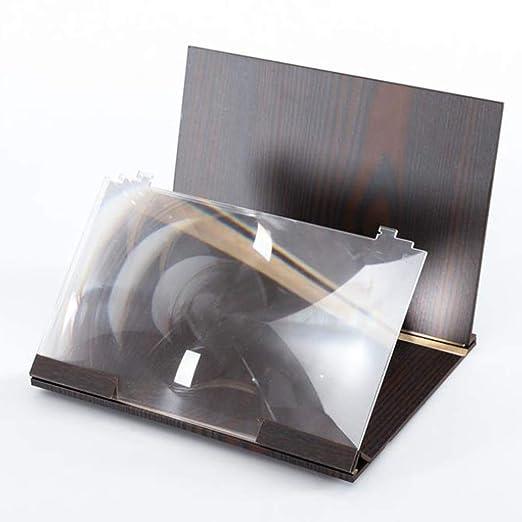 BWNWPH 12 Pulgadas de Madera del Grano proyector HD, 3D ...