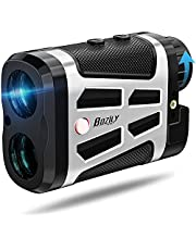 Golf Range Finder, Laser Range Finder Golf, 6X Vergroting Range Finder 1500 Meters Laser Range Finder Jagen, Rood Zwart LCD Display Afstandsmeter Met Helling Aan Uit Waterdicht