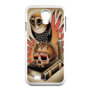 AKERCY Skull Arts Phone Case For Samsung Galaxy S4 i9500 [Pattern-1]
