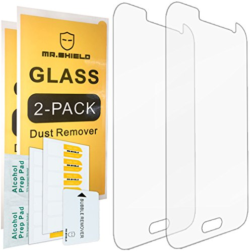 [2-PACK]-Mr Shield For Samsung Galaxy Core Prime [Tempered Glass] Screen Protector with Lifetime Replacement Warranty...