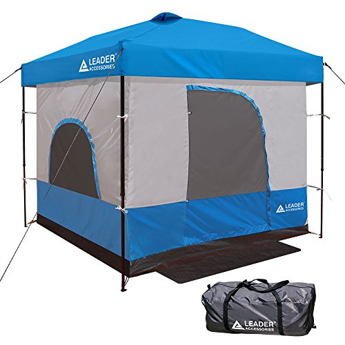 Leader Accessories Inner Tent for 10 x 10 Canopy, Blue (Inner Only, Frame and Top Not Included)