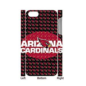 Generic Creative Back Phone Cover For Child Printing With Nfl Arizona Cardinals For Iphone 5 5S Full Body Choose Design 1-3